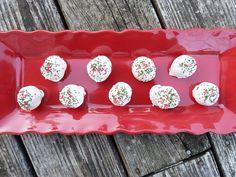 Red Velvet Brownie Truffles - Christmas Dessert
