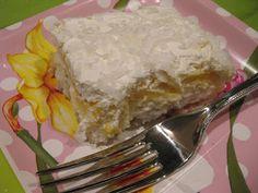 Easy Coconut Dessert