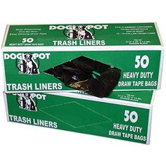 Dogipot Trash Liner Bags  Case of 50 bags >>> Find out more about the great product at the image link. This is an Amazon Affiliate links.