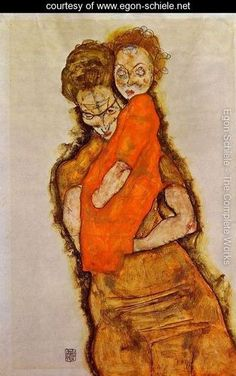 Egon Schiele, mother and daughter - Google Search