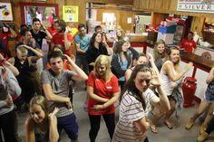 Who doesn't love a Macarena dance party?! #onlyatsilverlake