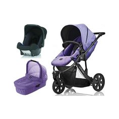 Britax B-Smart 3in1 Travel System-Purple Rain Description: Package Includes B Smart 3 Stroller-Purple Rain Hard Carrycot-Purple Rain Baby Safe Carseat-Black B-Smart Pushchair: The Britax B-Smart 3 Pushchair is a sporty 3-wheeler pushchair that can easily be converted to a stylish travel system with the addition of the Baby Safe range and... http://simplybaby.org.uk/britax-b-smart-3in1-travel-system-purple-rain/