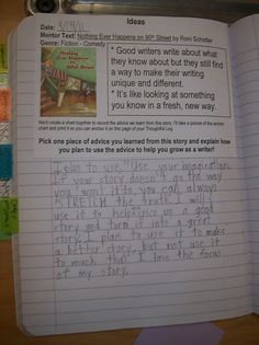reading notebooks and writing about reading.... I've done something similar but this is even better!