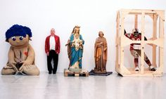 Mike Kelley's art alarmed, seduced and appalled. He said he became an artist to embrace failure; in that, he failed totally, by establishing a career lived at hurricane force on both sides of the Atlantic, and becoming the big success of his generation. Contemporary Sculpture, Contemporary Artists, Modern Art, Mike Kelley Artist, Minimalist Art, Conceptual Art, Art Market, The Guardian, Artist At Work