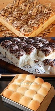 Воздушные булочки как пух — вы непременно захотите их приготовить. Bread And Pastries, Clean Recipes, Bread Baking, Food Photo, Biscuits, Oven, Good Food, Food And Drink, Cookies