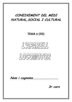 CONEIXEMENT DEL MEDINATURAL,SOCIAL I CULTURAL TEMA 6 (SIS)Nom i cognoms……………………………… 3r curs