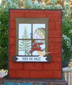 Wacky Watercooler Blog Hop - Christmas Cuties, Stampin' Up! @ My Tanglewood Cottage