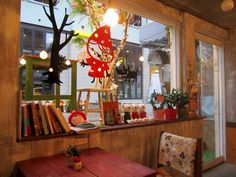 Coffee shop in Hongdae, Seoul ♥