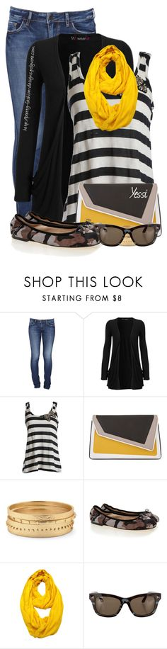 """""""~ 💕 Stripes & Denim 💕 ~"""" by pretty-fashion-designs ❤ liked on Polyvore featuring Lee, WearAll, âme moi, Chico's, Sam Edelman, Le Nom and Valentino"""