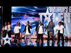 LOVE THIS!!! Revelation Avenue roar straight into the semi-finals! | Britain's Got Talent 2015 - YouTube