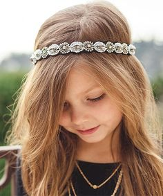 Beaded Whimsical Headband//