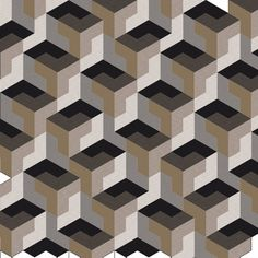 Half hexagon tessellation 2 single shape patterns in 2019 ди Modern Quilt Patterns, Wood Patterns, Shape Patterns, Geometry Pattern, 3d Pattern, Two Color Quilts, Pink Wallpaper Iphone, 3d Wall Art, Illusion Art