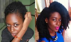 How I Grew My Natural Hair to Mid-Back Length and used Minimal Products - VeePeeJay
