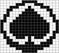 Tappara on terästä - tai vaikka villaa Logo Branding, Logos, Knitting Charts, Perler Beads, Pixel Art, Cross Stitch, Embroidery, Minecraft, Patterns