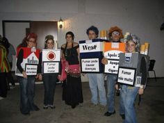 cigarette pack  HALLOWEEN COSTUMES