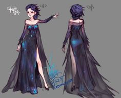 i know it's supposed to be evil elsa but what if this is galaxy elsa instead