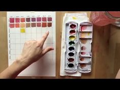 How to stretch your watercolors by mixing SIMPLE & BEAUTIFUL custom colors - YouTube