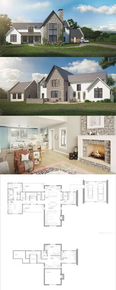 The Aubrac - traditional european farmhouse design with 3 bedrooms and open living floor plan! Farmhouse Style Bedrooms, French Country Bedrooms, Modern Farmhouse Style, Farmhouse Design, French Farmhouse, Country Farmhouse, Bedroom Country, Farmhouse Front, Country French