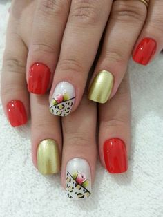Short Nails, Nail Art, Valentines, Manicures, Makeup, Beauty, Enamels, Red Toenails, Nail Arts