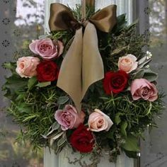Better to make this in the fall... cooler weather... and go to your florist a get those water holders and stick on end of roses... add ribbon.. FABULOUZZZ  PS also add ... Basil or Eucalyptus for added smell....