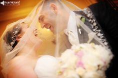 Allie & Greg's May 2014 #wedding at the Residence Inn Marriott West Orange and the Manor is our Round 5 Winner of the Best of Weddings 2014 FB Contest!!! (photo by deanmichaelstudio.com) #njwedding #love #summer #purple #photography #deanmichaelstudio