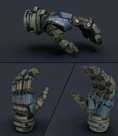 ArtStation - Robotic Hand, Carmine Napolitano Computer Robot, Rpg Cyberpunk, Mechanical Arm, Robot Parts, Mecha Suit, Armas Ninja, Humanoid Robot, Robots Characters, Arte Robot