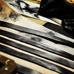 Taming #leather.  Get more sneak peeks when you sign up for email updates at www.twisted-pixies.com