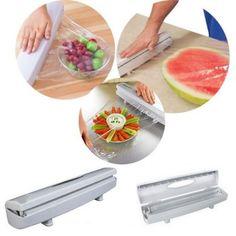 Zásobník fólie s rezačkou Gadget, Plastic Cutting Board, Smoothie, Things To Come, Simple, Smoothies, Gadgets