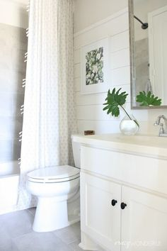15 Awesome Bathrooms Using Shiplap - Life, Love, & Shiplap