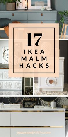 17 Awesome Ikea Malm Hacks that will Make your Day The Ikea Malm dresser is a ve. 17 Awesome Ikea Malm Hacks that will Make your Day The Ikea Malm dresser is a very popular piece of