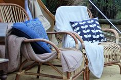 Glamping holiday accommodation breathing in fresh air, sitting in plush bamboo chairs listening to the wind dancing around the trees. Bamboo Chairs, Outdoor Chairs, Outdoor Furniture, Outdoor Decor, Glamping Holidays, Holiday Accommodation, Dancing, Plush, Trees