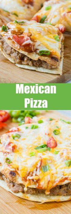 Pizza Recipes, New Recipes, Cooking Recipes, Favorite Recipes, Tortilla Recipes, Family Recipes, Copycat Recipes, Dinner Recipes, Appetizers