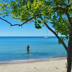 Ontario Has An Island With A Secret Beach That Will Transport You To The Tropics Cool Places To Visit, Places To Travel, Ontario Beaches, Big Sandy, Ontario Travel, Canadian Travel, Canada Eh, Secluded Beach, Culture Shock