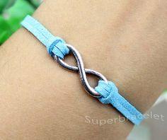 Infinity Bracelet Bracelet Karma Bracelet Light by superbracelet, $1.99