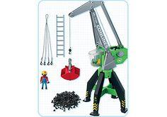 Grue portuaire - PM France PLAYMOBIL® France