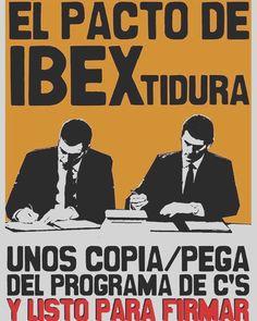 El #PactoDeLaVergüenza es todo lo contrario al cambio: ni derogan 135 ni la Ley Mordaza ni la reforma laboral.