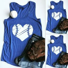About Women Baseball Tanktop This tank top is Made To Order, we print one by one so we can control the quality. We use DTG Technology to print Women Baseball Tanktop Softball Shirts, Sports Shirts, Baseball Mom Shirts Ideas, Dodgers Shirts, Softball Stuff, Softball Mom, Baseball Shirt Designs, Baseball Stuff, Baseball Photos