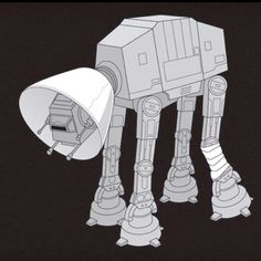 Poor little AT-AT