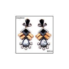 Ref: RP018 Josephine. Medidas: 6.5 cm x 2.9 cm . So Oh: 9.99 . Disponível para entrega imediata! Boas compras! #sooh_store #onlinestore #royal #brincos #earrings #fashion