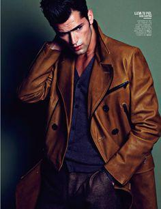 Sean O'Pry by David Roemer for Vogue Hombre México