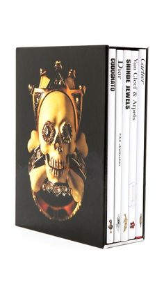 Interior Insight: Fashion Book Decor Books with Style Jewelry Memoires Book Set #currentlyobsessed