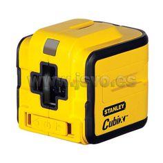 Nivel láser de línea cruzada auto nivelante Stanley ® Cubix™  - Ref.: STHT1-77340 - Incluye soporte. www.jsvo.es