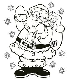 FREE Christmas Coloring Pages for Adults and Kids . - free printable christmas coloring pages Santa Coloring Pages, Printable Christmas Coloring Pages, Printable Christmas Games, Coloring Pages To Print, Coloring Pages For Kids, Coloring Books, Kids Coloring, Christmas Coloring Sheets For Kids, Christmas Worksheets