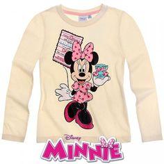 Disney minnie long sleeve t-shirt cream niñas детские, дисне Disney Shirts For Family, Shirts For Teens, Outfits For Teens, Summer Outfits, Disney Fun, Walt Disney, Minnie Mouse Fancy Dress, Disney Outfits, Disney Clothes