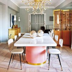 Home Tour: A Chic, Candy-Colored Apartment in Madrid | Sarah Sarna | A Lifestyle BlogSarah Sarna | A Lifestyle Blog