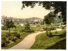 latest addition Dorchester, Borough Gardens from south, England