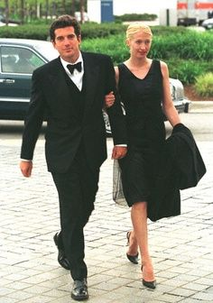 You can never go wrong with JFK Jr. on your arm but this LBD is soooo perfect!