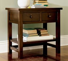 Farmhouse 2-Drawer Bedside Table | Pottery Barn