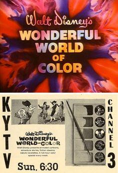 Walt Disney's Wonderful World of Color (1961-69, NBC)