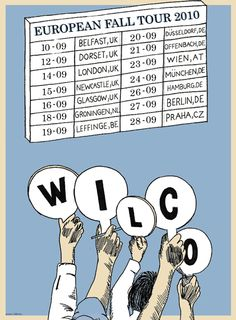 wilco¡¡¡   gigposters